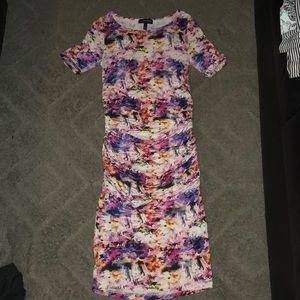 Isabella Oliver maternity floral bodycon dress